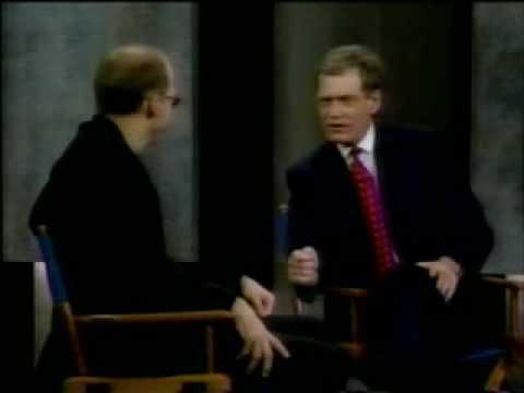 Anthony Edwards on Letterman 1996