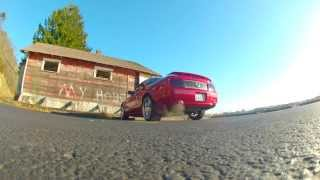 2005 Mustang GT Burnout takeoff and Donut