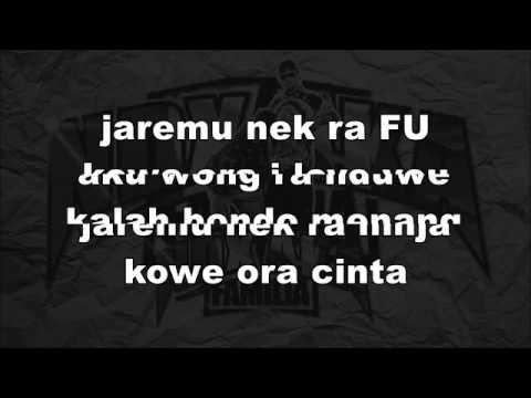 Kimcil Kepolen Lirik   NDA a k a   YouTube