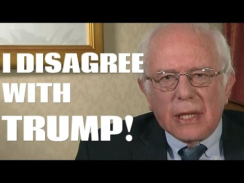 Bernie Sanders Not Impressed With DNC, But Disagrees With Trump