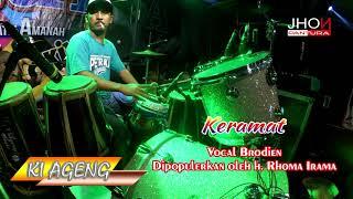 """Download KERAMAT ambyar..!!!! CAK MET lagu mantul joss gandos NEW PALLAPA """"LIRIK"""" COVER RHOMA IRAMA"""