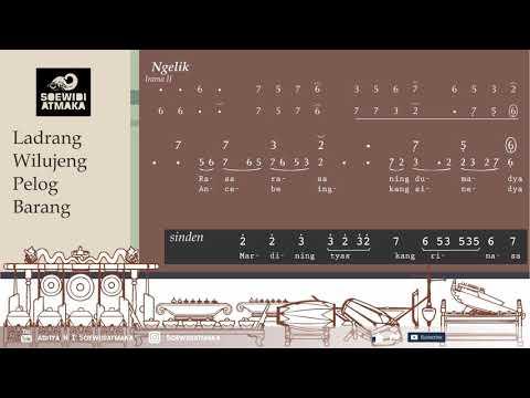 Latihan Gerong: [10] Ladrang Wilujeng Pelog Barang (+Sinden)