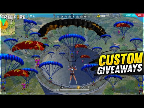 Free Fire Live Dj Adam Is Back Factory challange Giveaway - Garena Free Fire live