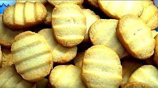 Вкуснейшее простое и быстрое домашнее печенье из 3 ингредиентов.