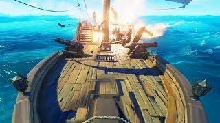 Unser Schiff wird ANGEGRIFFEN! ☆ Sea of Thieves