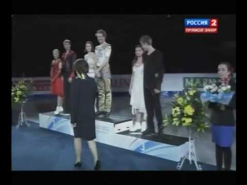 2012 EC icedance Medal Ceremony