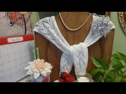 J's Knit Wimbledon Centre Court Lace Sweater.  EP. #26.