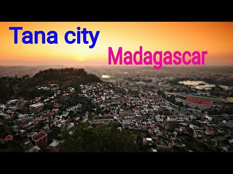 Antananarivo city , madagascar || tana city is beautiful and capital city of madagascar||
