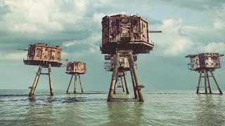 ABANDONED SEA FORTRESS FROM WORLD WAR 2