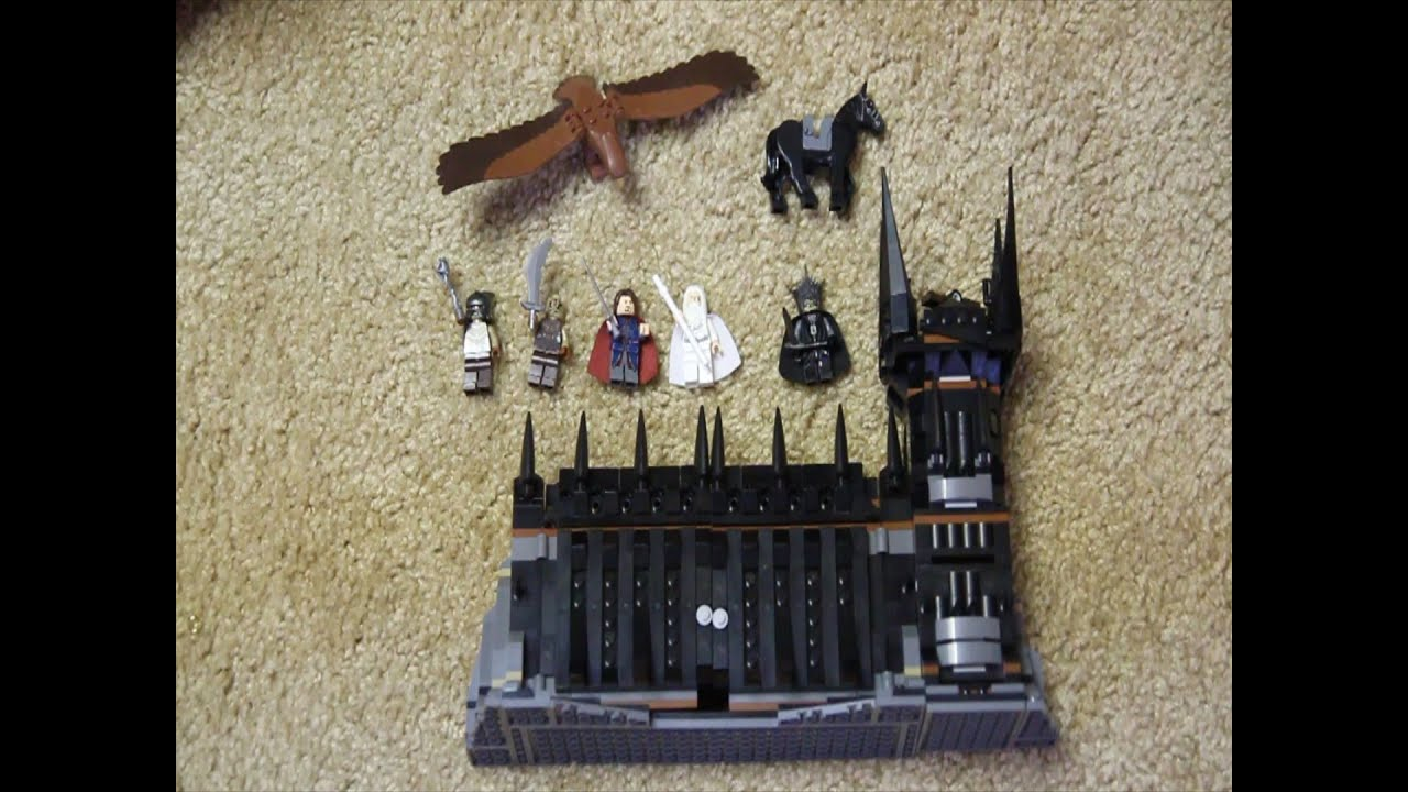 Lego Lord Of The Rings Review Battle At Black Gate Youtube 79007