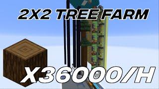 [Tutorial] Dual Giant Spruce Tree Farm