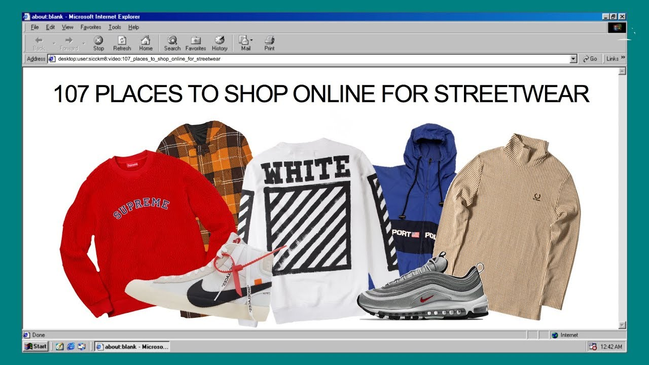 half off 4bf56 c8262 107 PLACES TO SHOP ONLINE FOR STREETWEAR