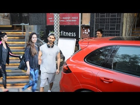 Shahid Kapoor & Mira Rajput SPOTTED Together At Gym In Juhu