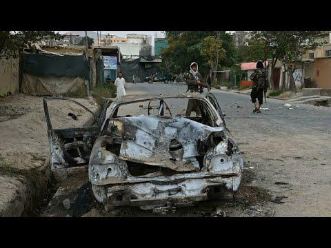 تنظيم -الدولة الإسلامية- يتبنى الهجوم الصاروخي على مطار كابول مع تواصل عمليات الإجلاء