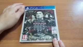Unboxing Sleeping Dogs Definitive Edition Ps4 [ITA]