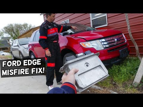 FORD EDGE MISFIRES NEW IGNITION COILS NEW SPARK PLUGS STILL MISFIRES. HOW TO FIX MISFIRE