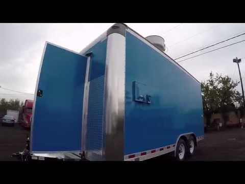 Concession Trailer Built for Portland, Oregon - B98