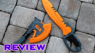 [REVIEW] Nerf Doomlands Swift Justice & Vigilance Review (Melee Toys)