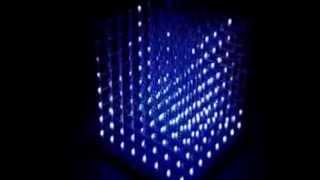 Светодиодный куб 8х8х8 Аудио(, 2015-03-13T10:47:10.000Z)