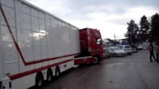 Scania R620 V8 transports Bardy Bresse
