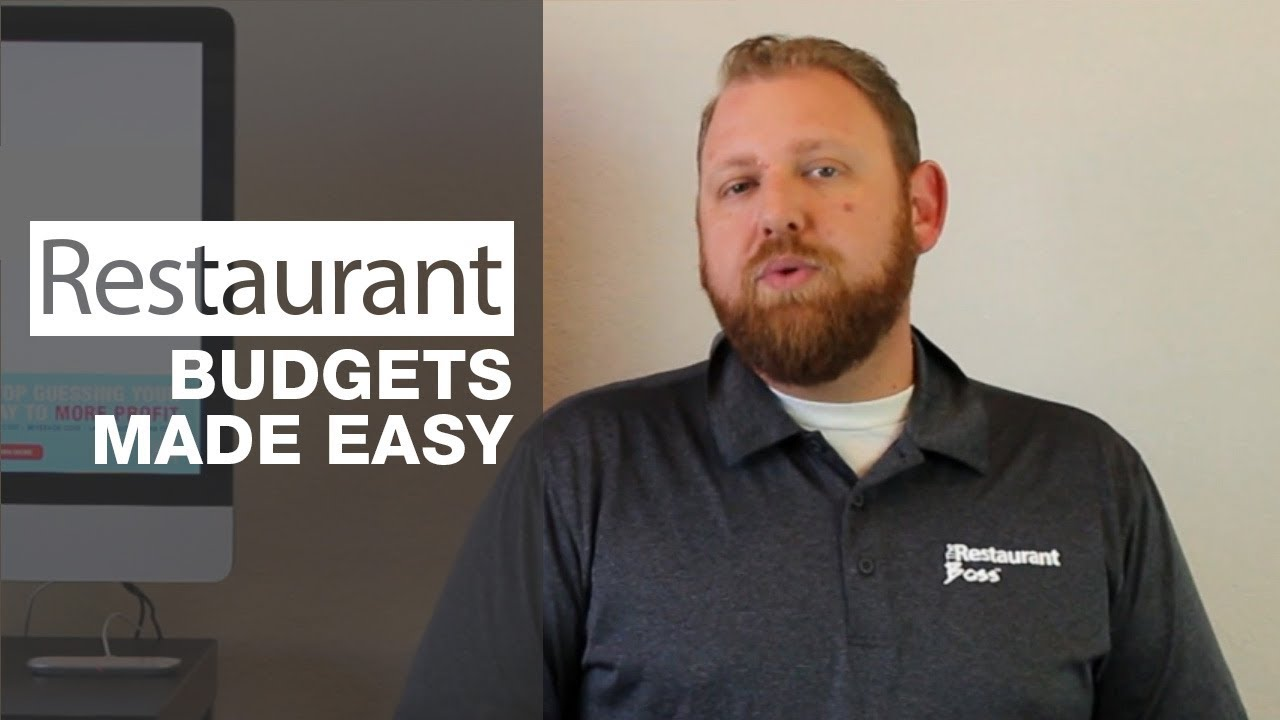 restaurant budgets made easy youtube