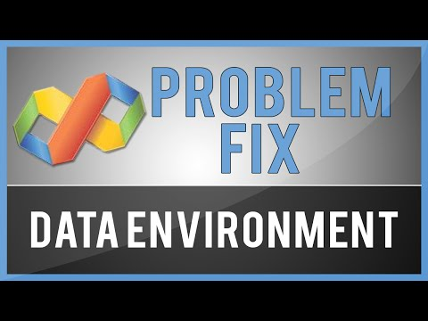 Missing Data Environment In Visual Basic 6 (Problem Fix)
