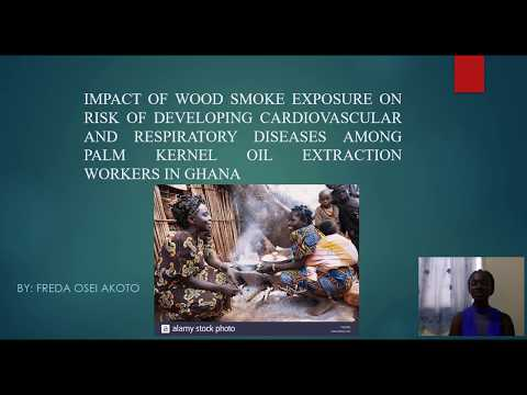 Impact of wood smoke exposure on palm kernel oil extraction workers in Ghana | Freda Osei Akoto