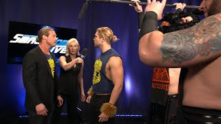 Dolph Ziggler and Breezango declare for the Andre the Giant Memorial Battle Royal: Mar. 27, 2018