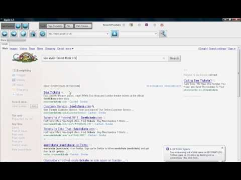 Aspire 1.3 Web Browser Speed Test VS Chrome Made By -iBreeze