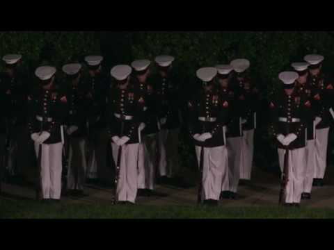 Marine Barracks Washington Evening Parade May 26, 2017