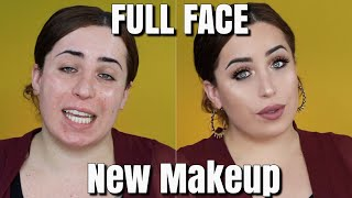 FULL FACE FIRST IMPRESSIONS + CHIT CHAT | Jolina Mennen