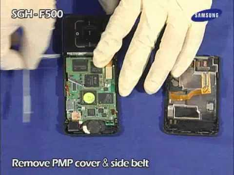 Samsung SGH-F500 Disassembly