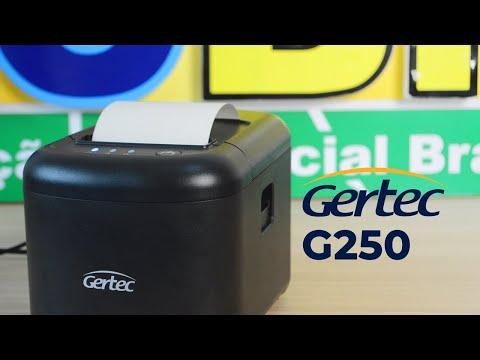 Conheça a G250 da Gertec   Homologação ACBr