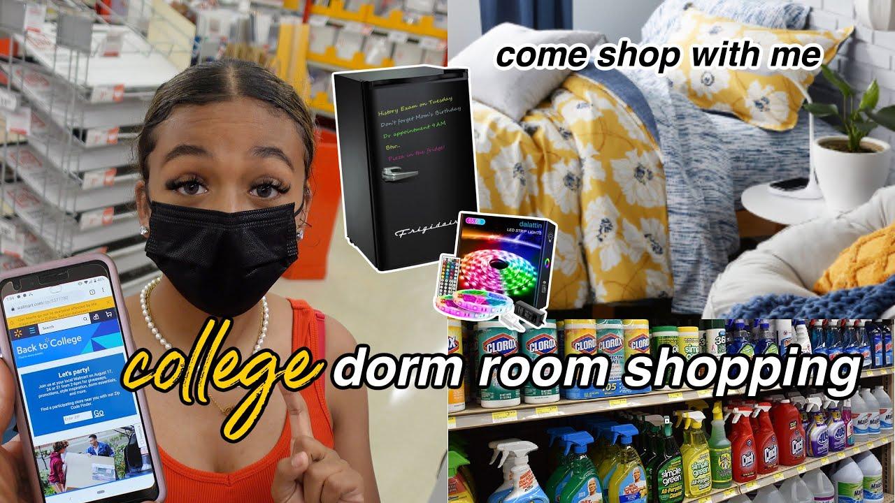 College Dorm Room Shopping Haul | Back to School 2021 | LexiVee