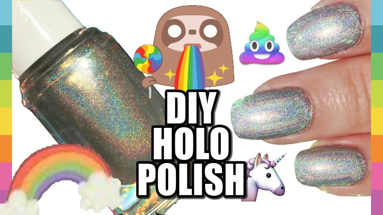 Fantastic Diy Holographic Nail Polish Photos - Nail Art Ideas ...