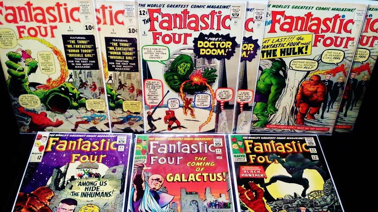 Best Fantastic Four Comic Book Collection Ever Issues 1