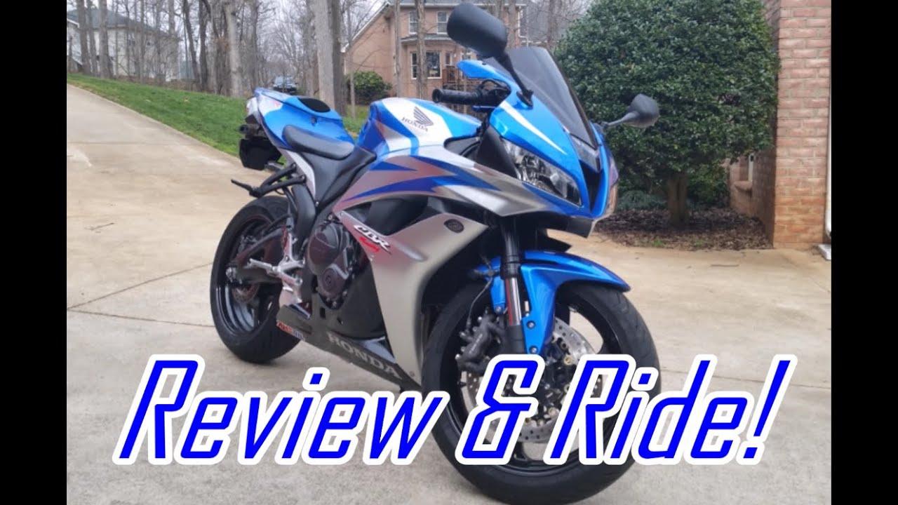 2007 Honda CBR600RR: Exhaust, Walkaround, Test Ride & Review