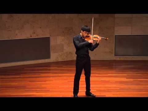 Andrew Lee - Ellen Taaffe Zwilich - Fantasy for Solo Violin