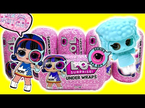 NEW LOL Surprise Under Wraps Big Sisters Jelly Outfit Doll