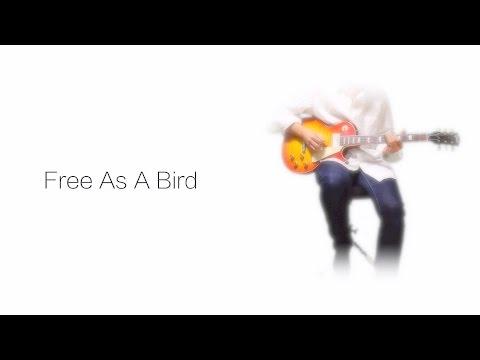 Free As A Bird - The Beatles karaoke cover