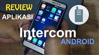 Review Aplikasi Intercom Android