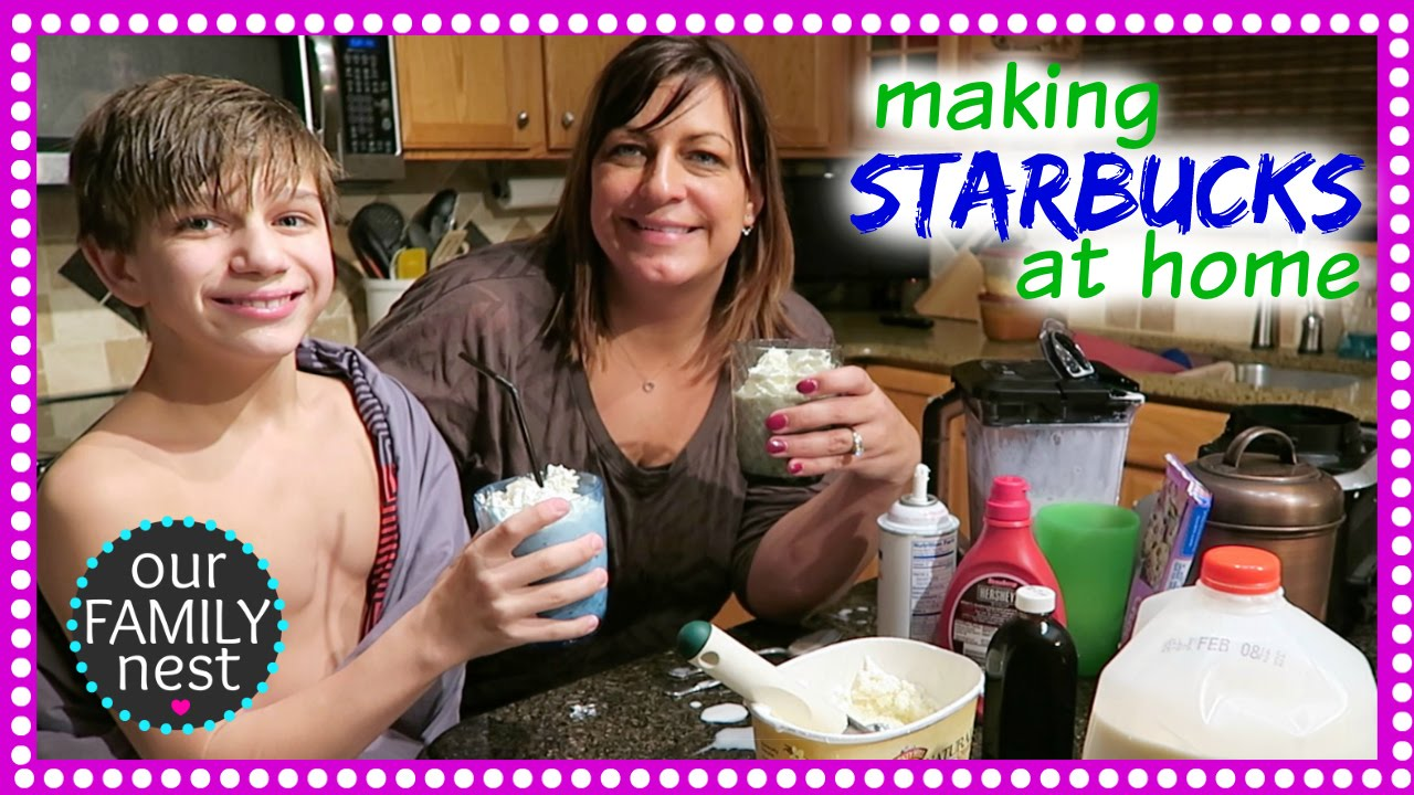 Making Starbucks At Home Youtube