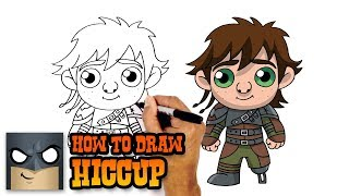 hiccup drawing lesson