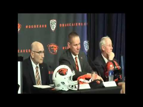 Gary Andersen introduced as new Oregon State Beavers football coach