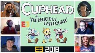 Gamers Reactions to CupHead DLC ( Delicious Last Course )