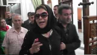 Fella Ababsa à l'aeroport d'Alger فضيحة فلة عبابسة في مطار الجزائر إثر وفات وردة الجزائرية