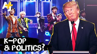 How K-Pop and the BTS Army Disrupted U.S. Politics
