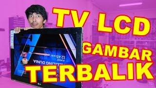 TV LCD LG Gambar Terbalik Double VLOG23