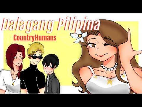 Dalagang Pilipina | Country Humans but LITERAL | Phil | Ame | Spain | Japan | read desc |