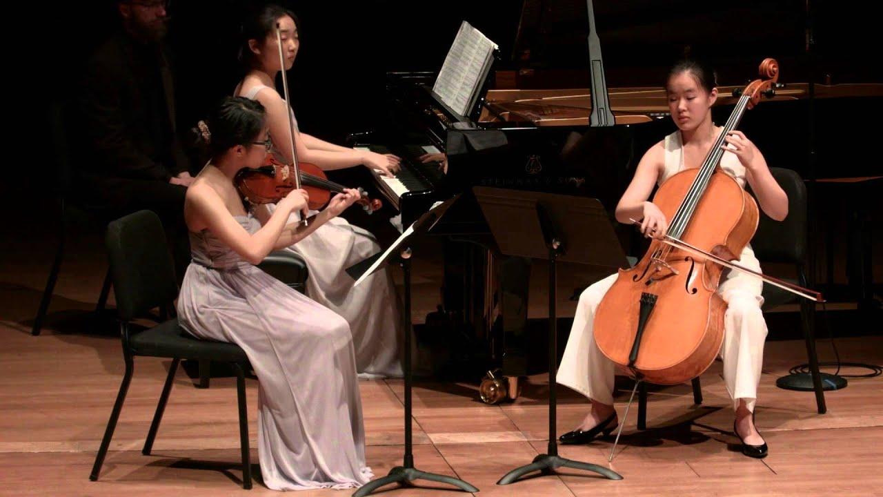 Mendelssohn: Trio No. 1 in D minor for Piano, Violin, and Cello, Op. 49